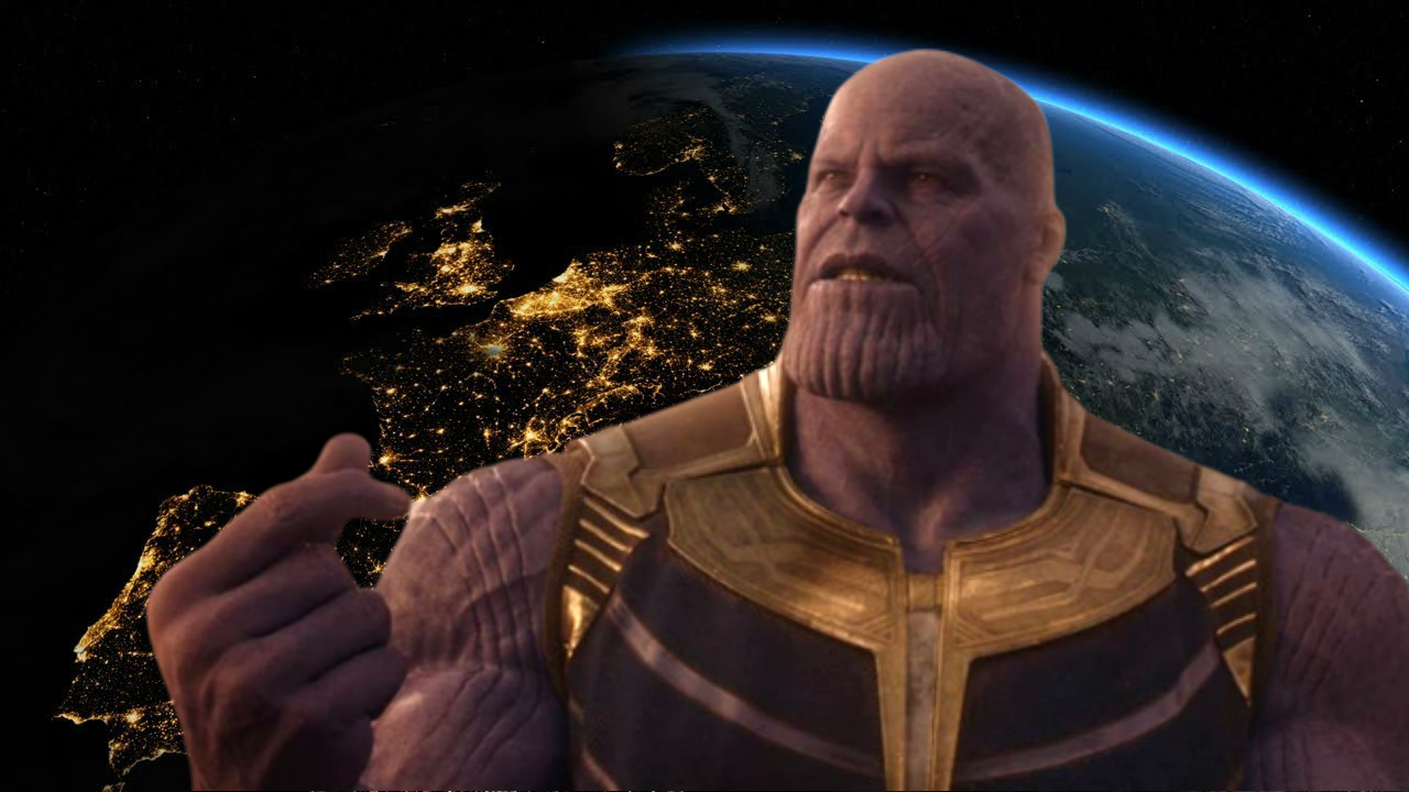 【科普】如果真實世界面臨到薩諾斯的「彈指」將會發生什麼事?讓專家解釋給你聽!首圖