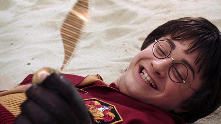 《哈利波特:消失的密室》劇照。