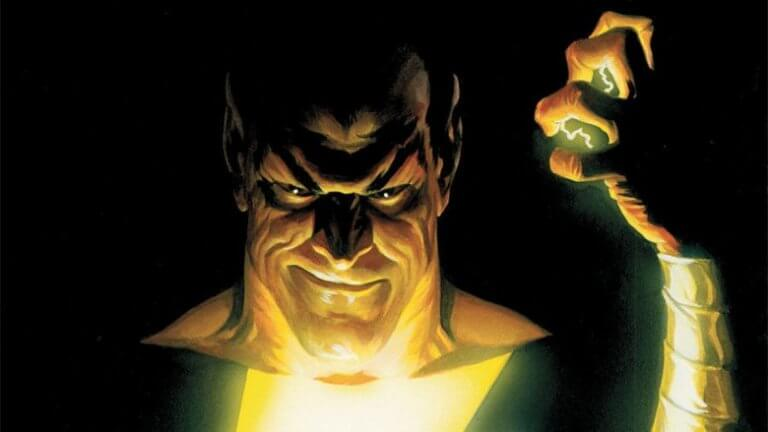《沙贊!》原作漫畫中的死敵:黑亞當有可能將由巨石強森飾演,在相關電影中現身。