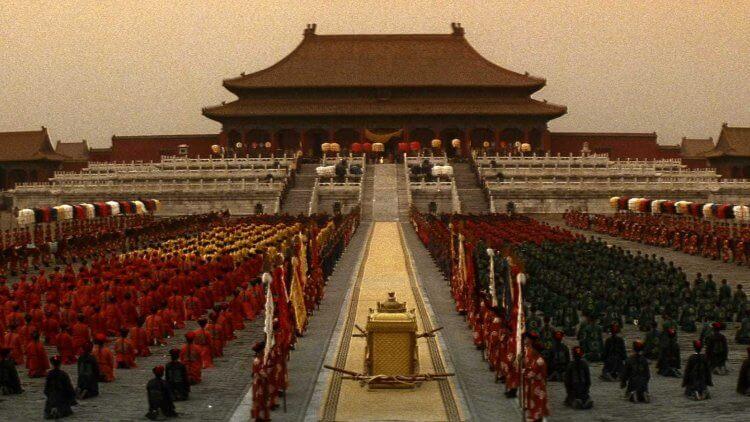傳奇史詩電影《末代皇帝》橫掃奧斯卡 9 項大獎最大贏家,影史唯一進入紫禁城太和殿實景拍攝的商業電影!