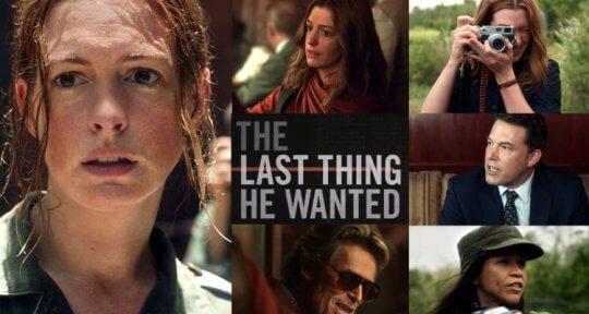 安海瑟薇與班艾佛列克主演 Netflix 驚悚電影《他的最後願望》