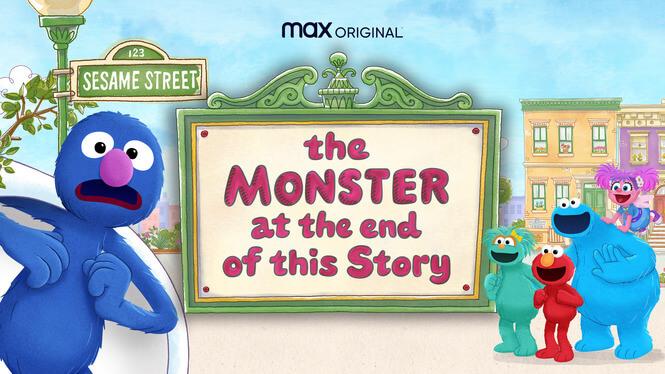 《芝麻街:故事結局的怪獸》封面圖。