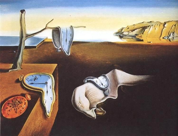 達利 (Salvador Dalí) 的《記憶的堅持》