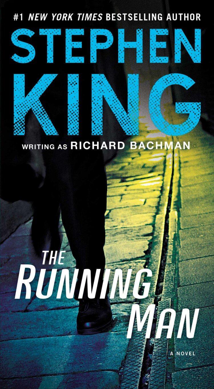 史蒂芬金《The Running Man》小說書封。