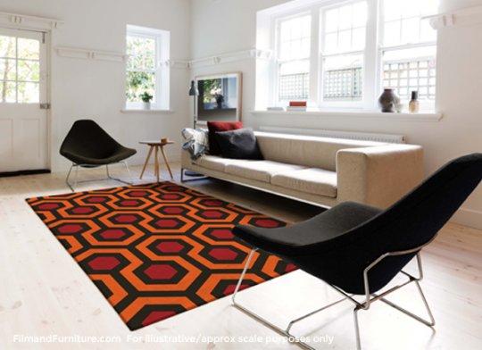 《鬼店》的地毯
