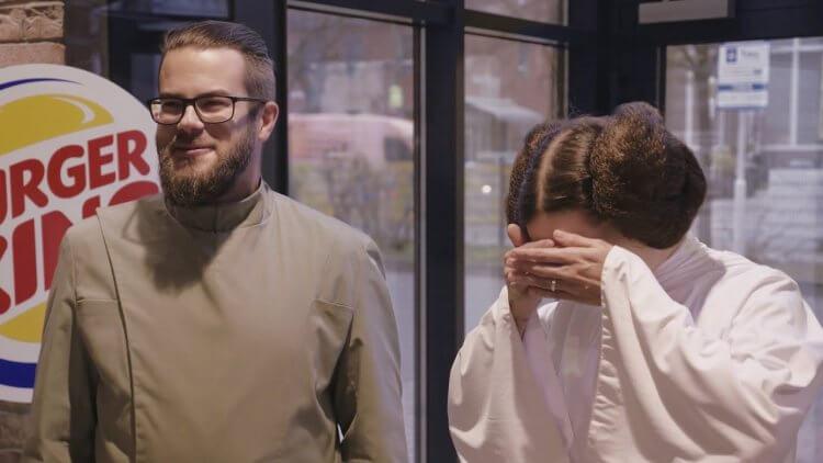 德國漢堡王推出與《Star Wars : 天行者的崛起》相關的行銷活動