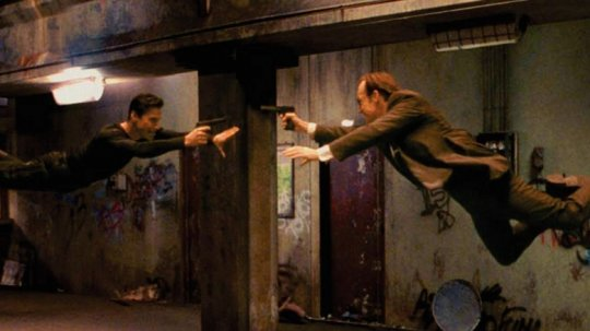 《駭客任務》(Matrix) 劇照。