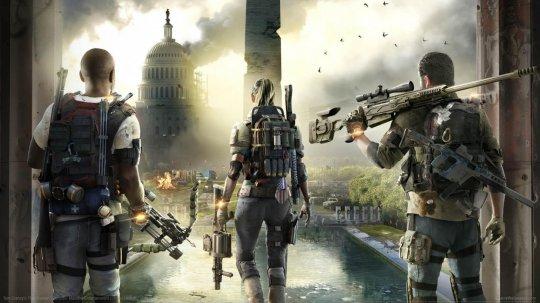 電玩遊戲《湯姆克蘭西之全境封鎖》(Tom Clancy's The Division) 。