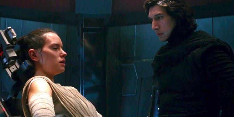 《STAR WARS:天行者的崛起》電影中的芮與班天行者(Ben Skywalker)。