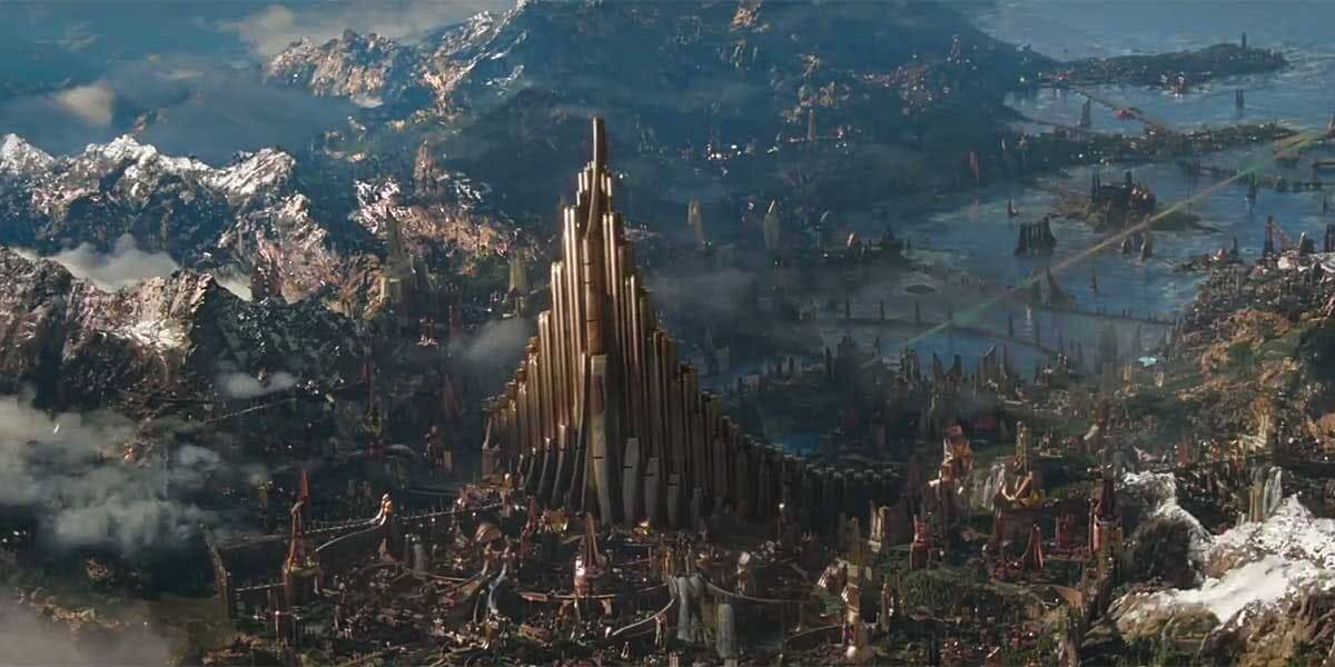 為了徹底執行「 諸神黃昏 」,導演及《 雷神索爾3 》團隊最後變更了決戰與毀滅的地點。