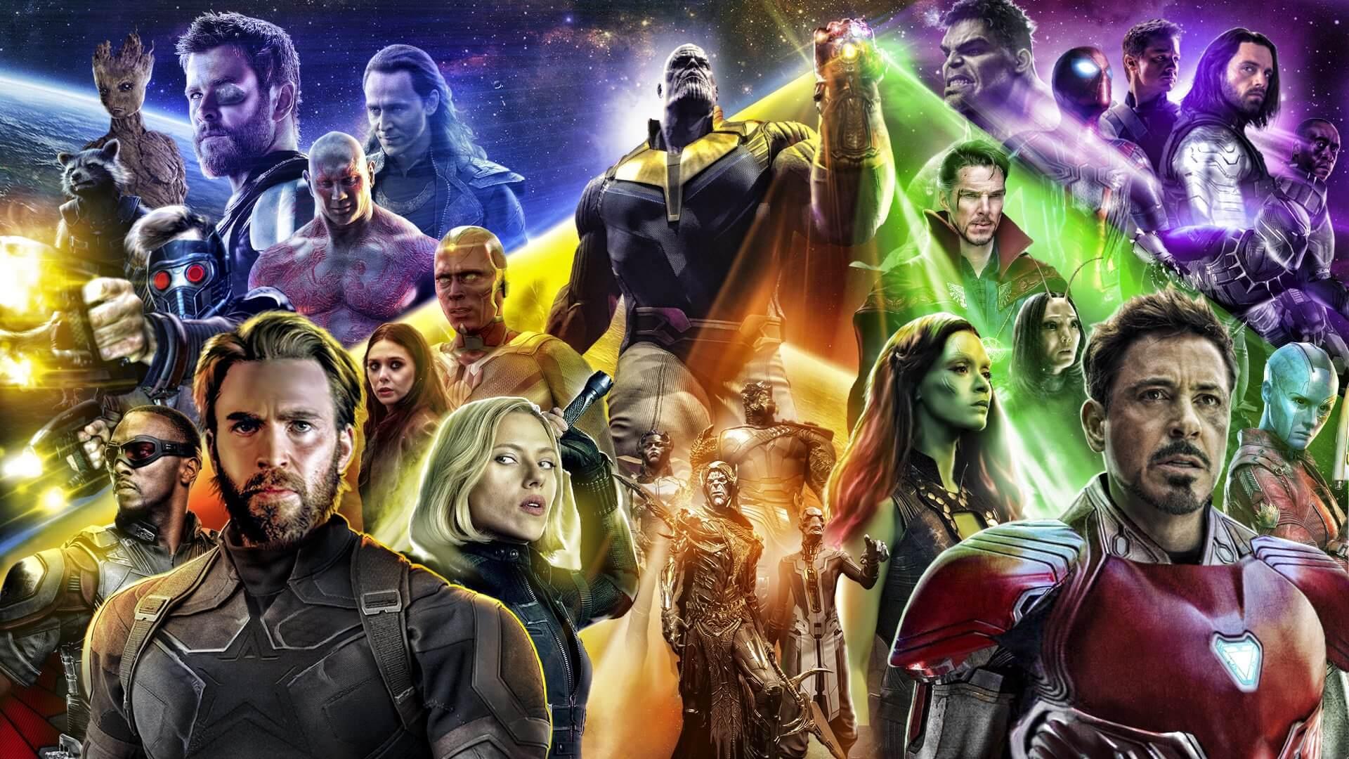 漫威電影宇宙 十年集結大作 超級英雄電影 復仇者聯盟 無限之戰