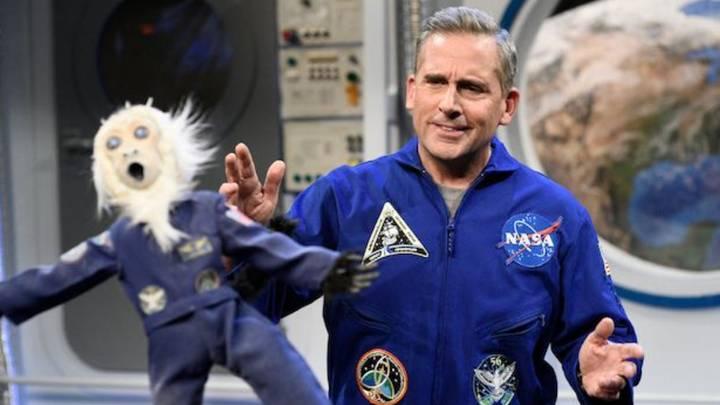 《太空部隊》史提夫卡爾。