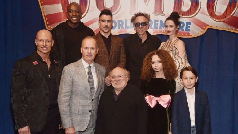 提姆波頓找來米高基頓、柯林法洛、伊娃葛林等人演出真人版《小飛象》電影。