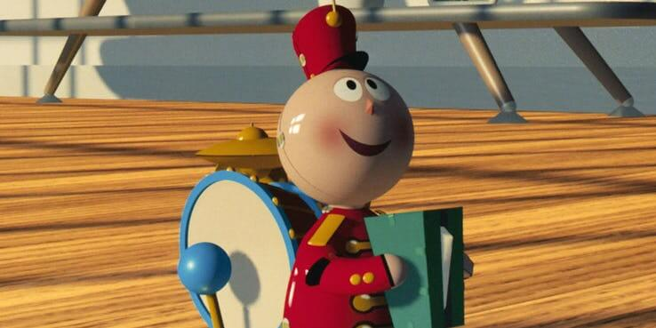 《玩具總動員 4》(Toy Story 4) 原版的小錫兵玩具。