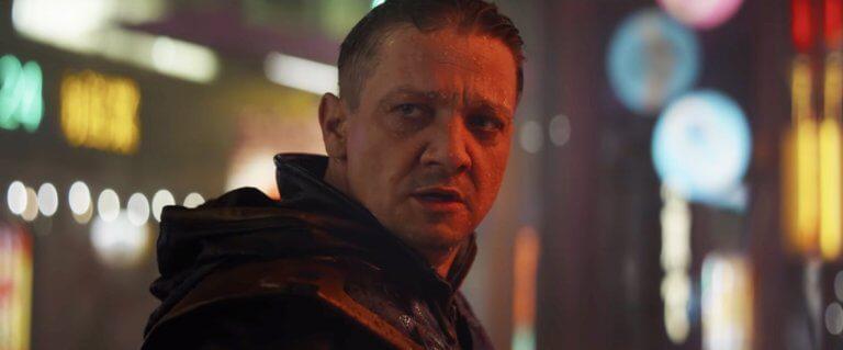 《復仇者聯盟4:終局之戰》的鷹眼 (Hawkeye) 。