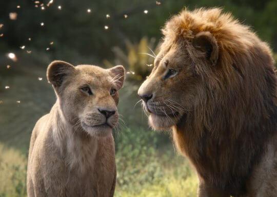 《獅子王》(The Lion King) 票房表現亮眼,突破 10 億美金。