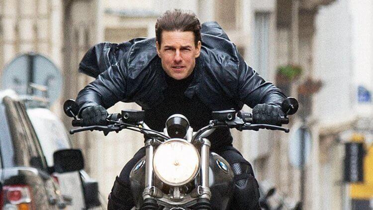 湯姆克魯斯所主演的《不可能的任務》系列電影劇照,所有特技動作阿湯哥不假他人,親自上陣。