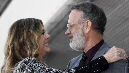 湯姆漢克斯(Tom Hanks) 與妻子確診武漢肺炎
