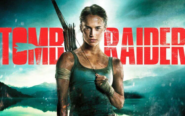 艾莉西亞薇坎德主演的《古墓奇兵》。