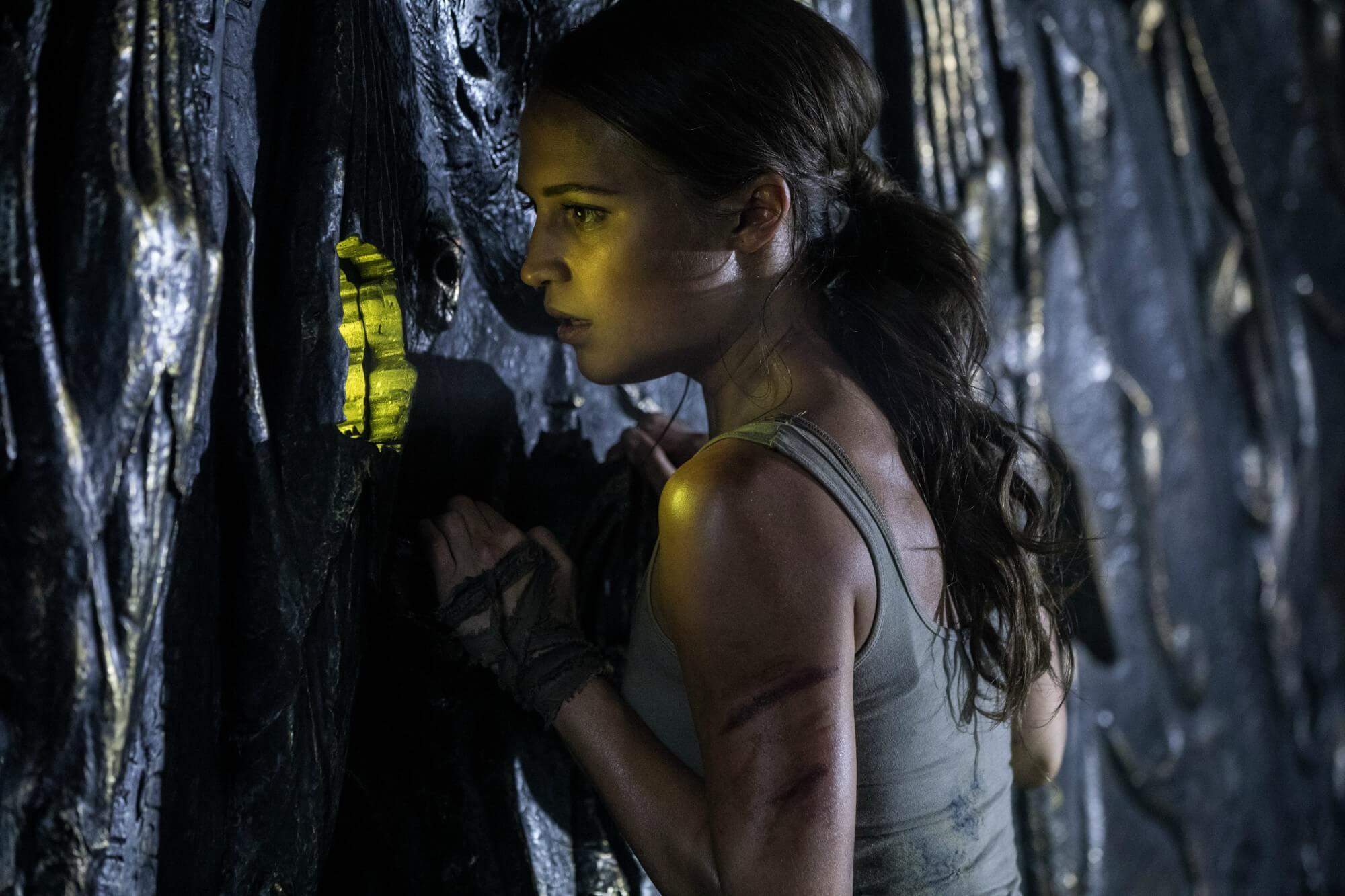 古墓奇兵 Tomb Raider 艾莉西亞薇坎德 蘿拉