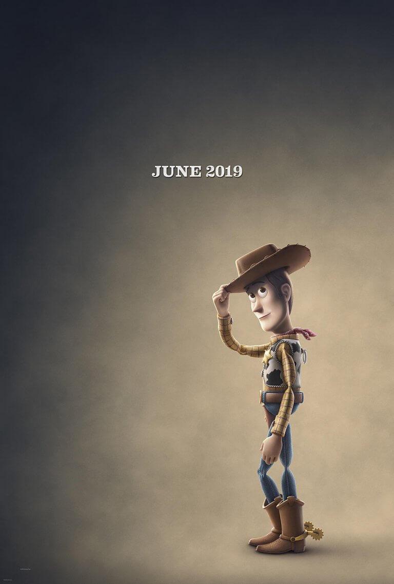 日前釋出的《玩具總動員 4》動畫電影海報,胡迪警長的寂寥身影似乎暗喻了故事發展。