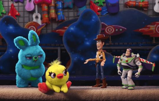 《玩具總動員 4》(Toy Story 4) 劇照。