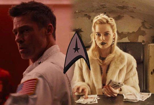 布萊德彼特 (Brad Pitt) 以及瑪格羅比 (Margot Robbie)