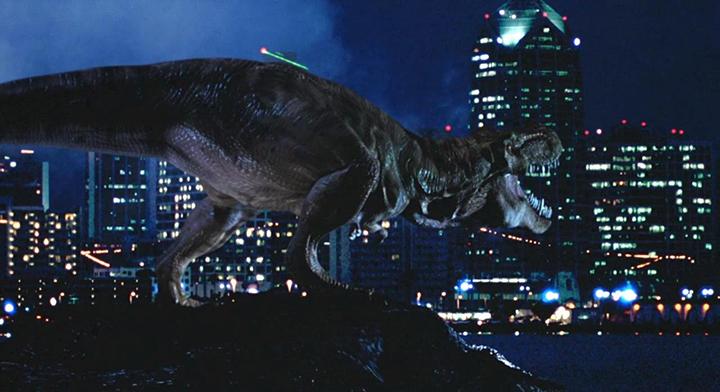 《 侏羅紀公園:失落的世界 》 劇照 。