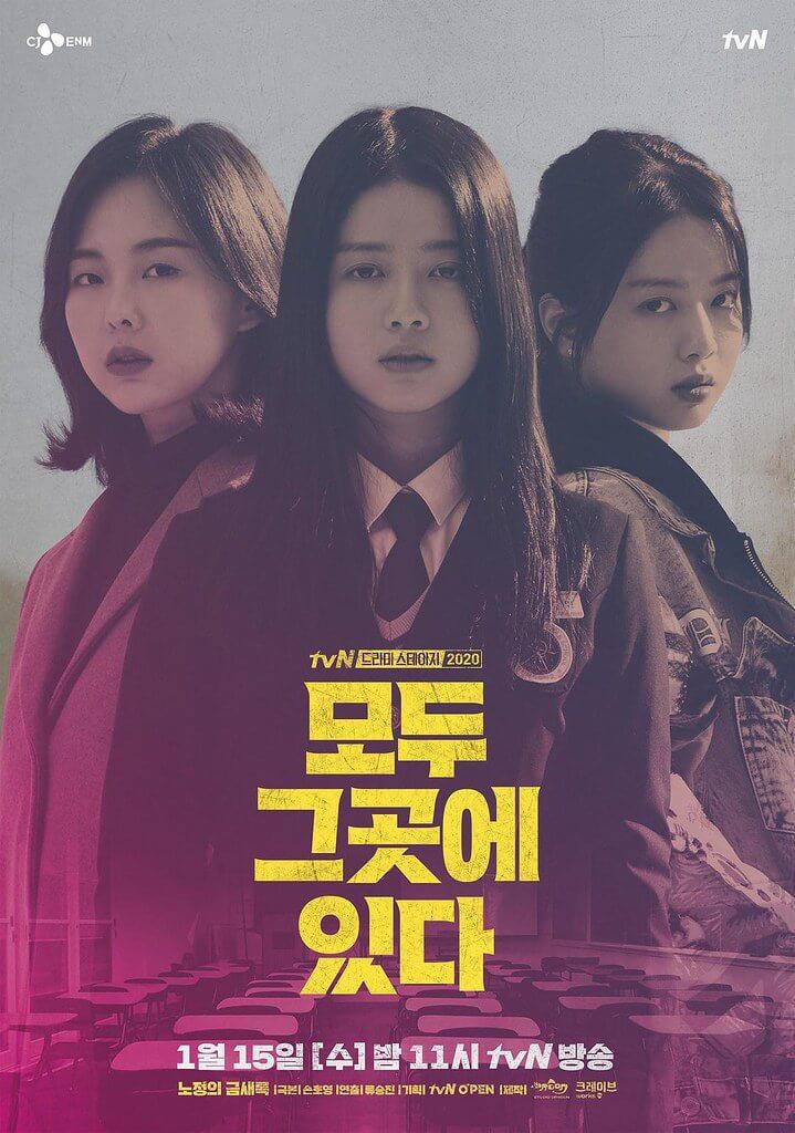 tvN獨幕劇《全部都在那個地方》海報