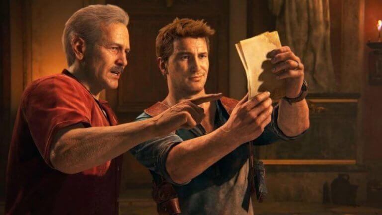 《秘境探險》(Uncharted) 遊戲照。