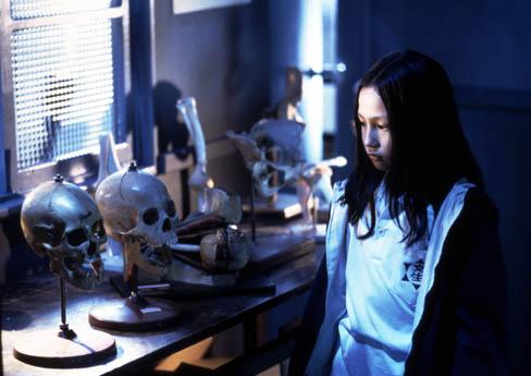 台灣驚悚電影《雙瞳》劇照。