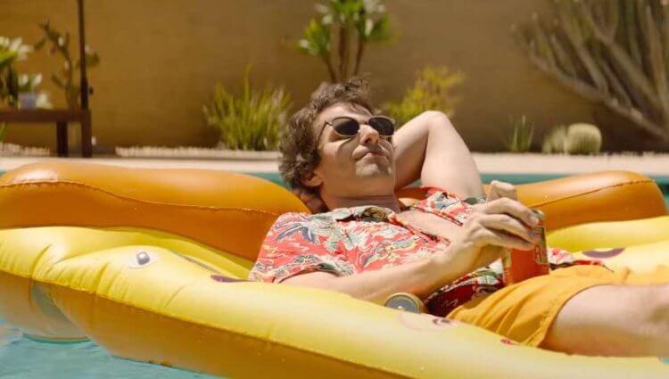 《棕櫚泉不思議》安迪山伯格。