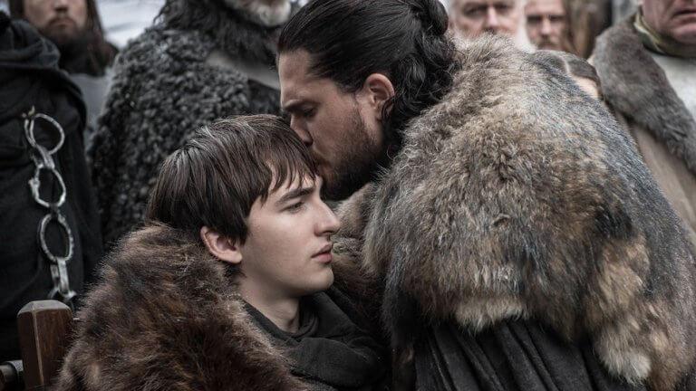 《冰與火之歌:權力遊戲》(Game of Thrones) 第八季劇照。