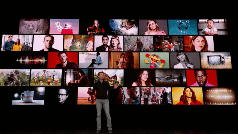 AppleTV+ 影音串流平台服務將有多部原創作品推出。珍妮佛安妮斯頓、史蒂芬史匹柏、傑森摩莫亞、海莉史坦菲德......等影星名導作品陸續上線。