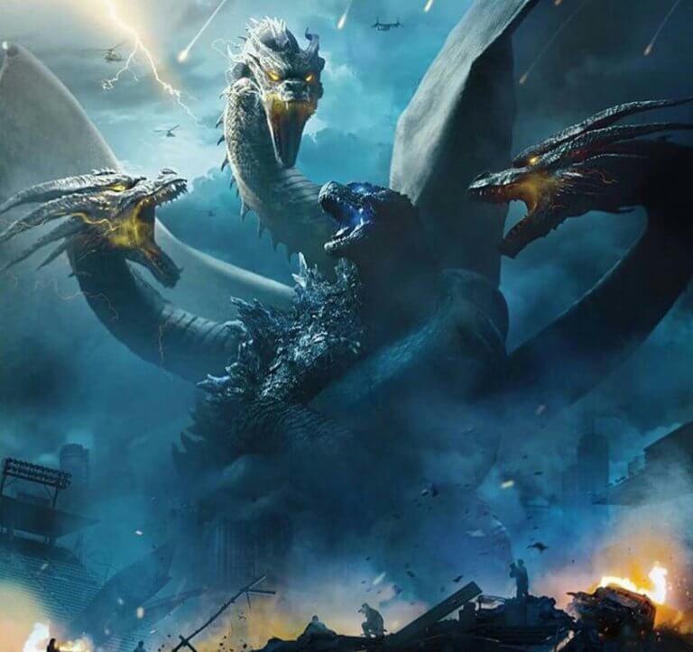 《哥吉拉 Ⅱ:怪獸之王》(Godzilla: King of Monsters) 劇照。