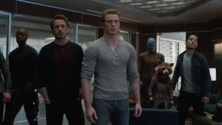 《復仇者聯盟:終局之戰》(Avengers: Endgame) 新預告東尼史塔克 (Tony Stark) 和史蒂夫羅傑斯 (Steve Rogers)將會攜手對抗薩諾斯