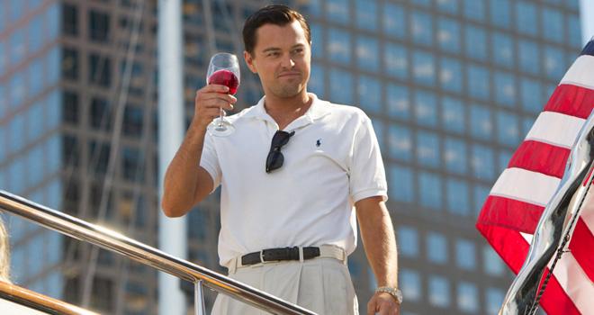 李奧納多狄卡皮歐曾因《華爾街之狼》入圍奧斯卡最佳男主角。