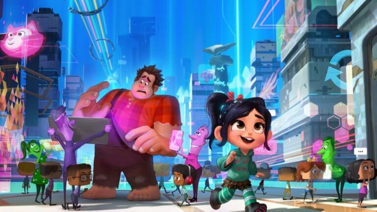 充滿迪士尼公主、自嘲哏、星戰、鋼鐵人等等彩蛋的《無敵破壞王 2:網路大暴走》。