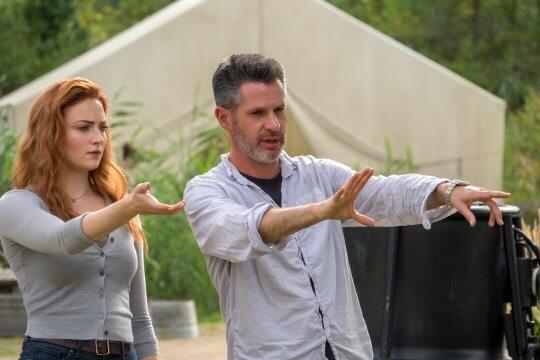 《X 戰警:黑鳳凰》(X-Men : Dark Phoenix) 片場側拍。
