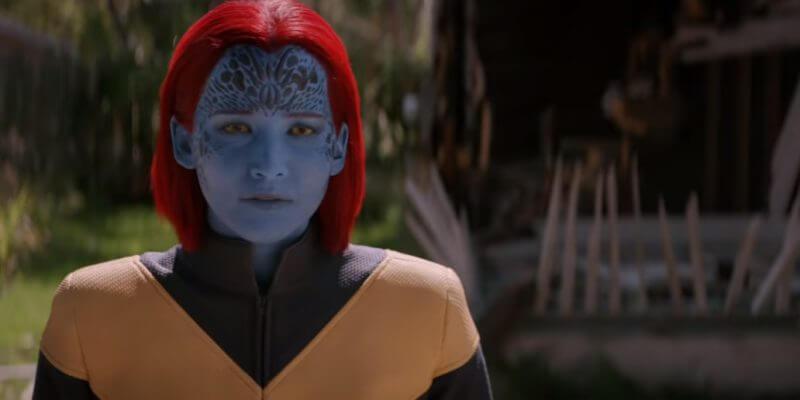 珍妮佛勞倫斯 (Jennifer Lawrence) 在《X 戰警:黑鳳凰》終飾演魔形女 (Mystique)。