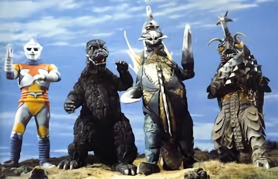 1973 年的東寶特攝電影《哥吉拉對梅加洛》。